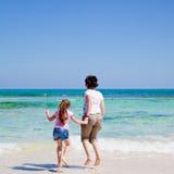 Mutter- und Tochterspiel Lizenzfreies Stockfoto