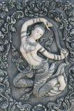 Mutter von Erde in der siamesischen Art Stockfoto