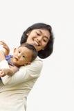 Mutterenspaß mit Kind
