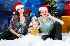 Muttergesellschaft mit einer Tochter Lizenzfreies Stockfoto