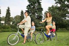 Muttergesellschaft mit Kind Lizenzfreies Stockfoto