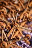Muttern - und - Schrauben stockfoto