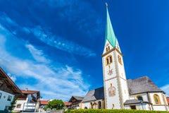 Mutters village near Innsbruck, Austria. Mutters village near Innsbruck, western Austria royalty free stock image