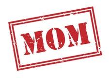 Mutterstempel auf weißem Hintergrund Lizenzfreie Stockbilder