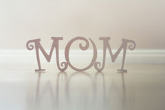 Muttertagbuchstaben lizenzfreies stockbild