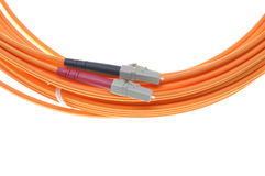 Mutti mode patch cord LC Stock Photo