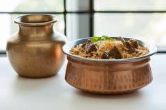 Mutton biryani Stock Images
