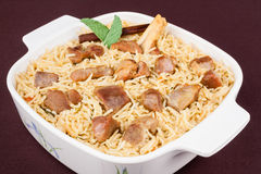 Mutton Biryani Stock Images