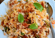 Mutton biryani Stock Photos