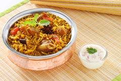 Mutton Briyani Stock Images
