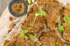Mutton Chaap Stock Images