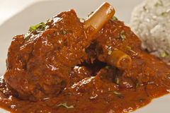 Mutton Curry from India Royalty Free Stock Image