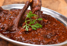 Mutton Curry stock photos