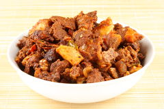 Mutton curry. Stock Photography