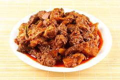 Mutton curry Stock Images