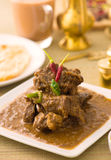 Mutton curry korma , indian food stock images