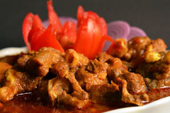 MUTTON CURRY. Spicy, Juicy, delicious mutton curry or meat curry Indian style Royalty Free Stock Photography