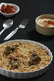Mutton Gosht Biryani Stock Photos