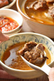 mutton hot pot.   Stock Images