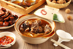 Mutton hot pot. Royalty Free Stock Photo