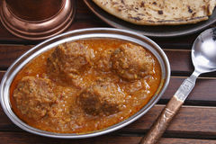 Mutton kofta curry from India Stock Photo