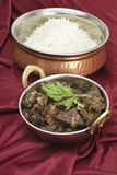 Mutton liver fry vertical Royalty Free Stock Photography