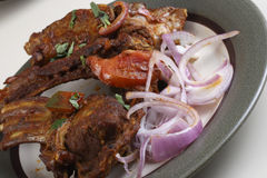 Mutton Masala Dry from India Stock Images