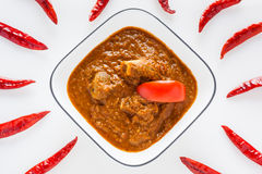 Mutton rogan josh royalty free stock image