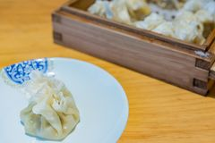 Mutton shaomai - a traditional food in northern China,Hohhot royalty free stock photos