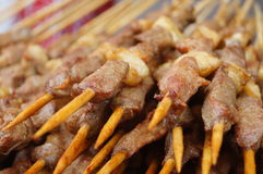 Mutton shashlik Royalty Free Stock Image