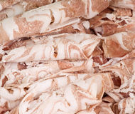 Mutton slices Stock Photo