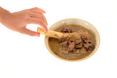 Mutton  Soup Stock Photo