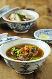 Mutton soup, or soup kambing Royalty Free Stock Image