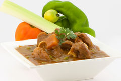 Mutton Stew - South African Style stock image