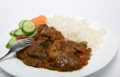 Mutton vindaloo curry Stock Photos