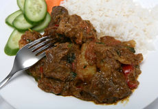 Mutton vindaloo curry Royalty Free Stock Images