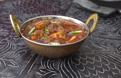 Mutton Vindaloo, Traditional indian food tikka Mutton Vindaloox Royalty Free Stock Photo
