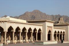 muttrah Оман колоннады Стоковое Фото
