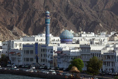 Muttrah Corniche, Muscat Royalty Free Stock Images