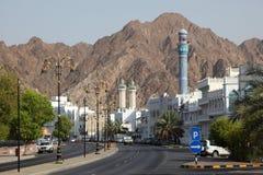 Muttrah Corniche, Omán Imagen de archivo libre de regalías