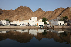 Muttrah - old town of Muscat Royalty Free Stock Images