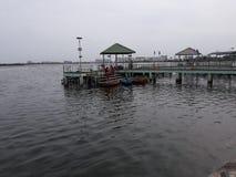 Muttukandu boat house,channai. royalty free stock photography