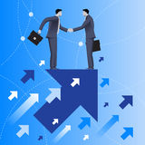 Mutual benefit business concept Stock Photography
