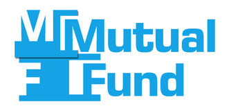 Mutual Fund Blue Abstract Bar Stock Photo