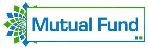 Mutual Fund Green Blue Circular Bar Stock Photo