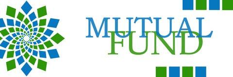 Mutual Fund Green Blue Circular Horizontal Stock Photo