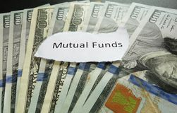 Mutual fund note Royalty Free Stock Photos