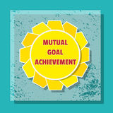 Mutual Goal achievement Stock Images