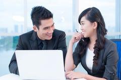 Mutual understanding Stock Photography