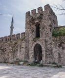 Muur 05 van de Stad van Istanboel Stock Afbeelding